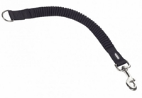 Koppel Nylon Soft Stop Belt 25mm/45cm Svart