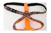 Hurtta Lifeguard Y-Reflexsele Orange 35cm