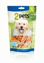 2pets Dogsnack Chicken /Fish Cubes 100g